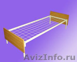кровати металлические, корпусная мебель ,  кровати двухъярусная, кровати  оптом - Изображение #1, Объявление #562887