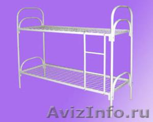 кровати металлические, корпусная мебель ,  кровати двухъярусная, кровати  оптом - Изображение #3, Объявление #562887