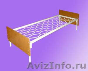одноярусные металлические кровати для интернатов, двухъярусные кровати оптом - Изображение #5, Объявление #695584