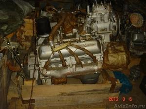Двигатель Урал 375, ЗиЛ 509 бензиновый в сборе с КПП. - Изображение #1, Объявление #1105625