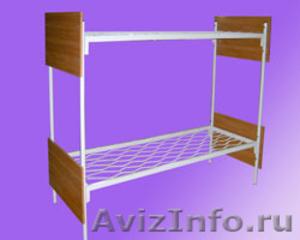 Металлические кровати, для строителей, кровати для вагончиков, для бытовок - Изображение #4, Объявление #1479360