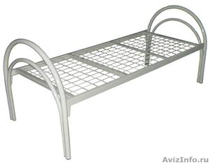 Металлические кровати, для строителей, кровати для вагончиков, для бытовок - Изображение #3, Объявление #1479360