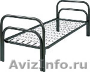 Металлические кровати, для строителей, кровати для вагончиков, для бытовок - Изображение #1, Объявление #1479360