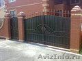 ворота, решётки, оградки