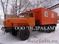 Автомобиль исследования газовых скважин на шасси Урал.
