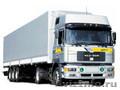 Аренда грузовой машины в Тюмени (бортовой длинномер 13, 6м.)