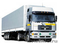 Услуги грузовой машины в Тюмени (бортовые длинномеры 13, 6м)